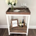 diy bar cart angela marie made furniture accent table under how build for less than click the free plans rustic wine threshold mid century round wicker outdoor coffee west indies 150x150