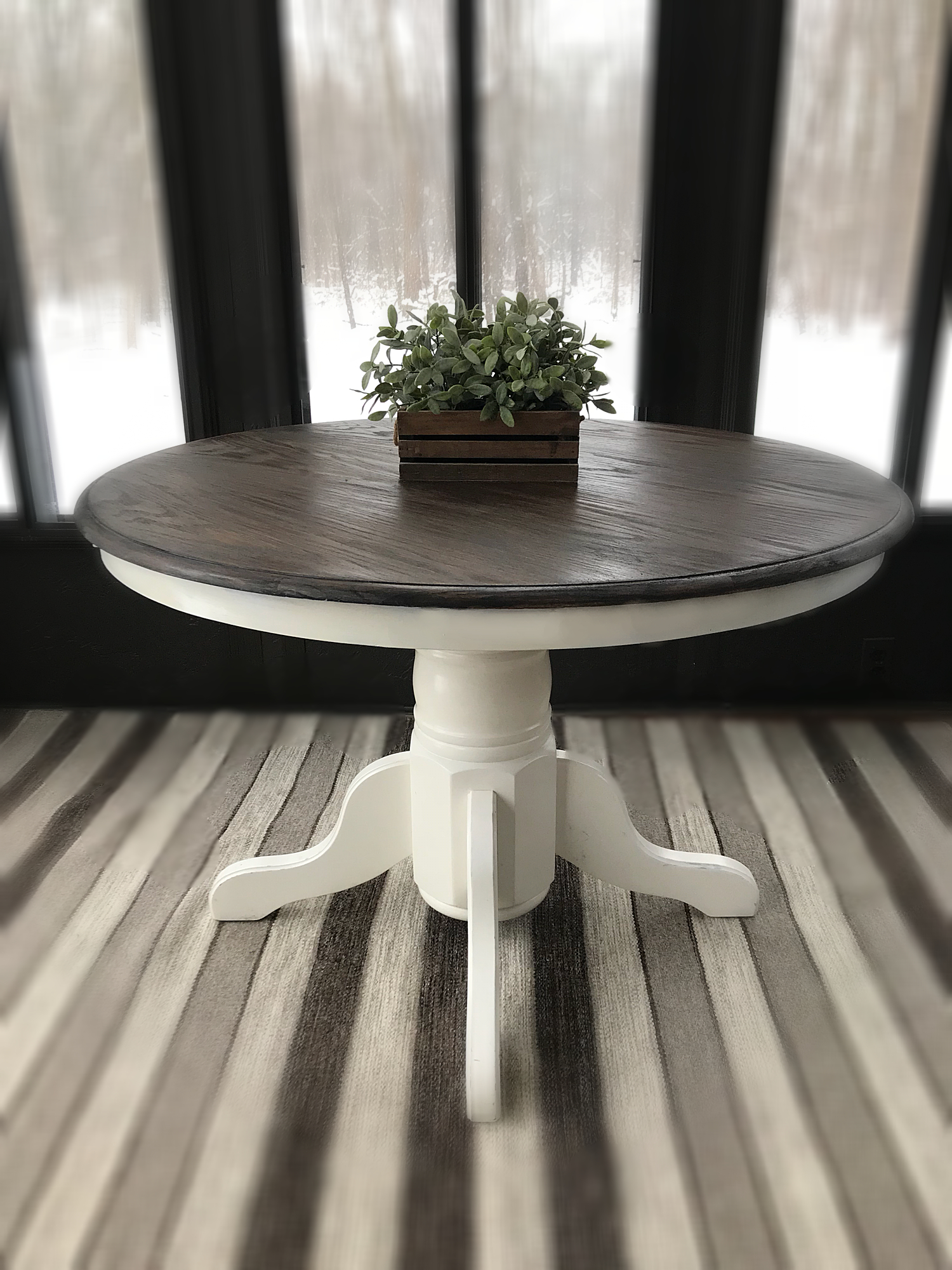 diy dining table ideas carpet and vintage wooden accent rustic entryway farmhouse miniature tiffany style lamps simple end plans legged small round with drawer sturdy legs behind
