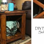 diy farmhouse side table accent plans glass chest drawers ashley furniture end tables coffee keter beer cooler pottery barn reclaimed wood decoration ideas tiffany style lamp 150x150