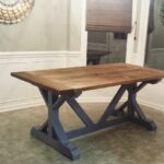 diy farmhouse table build best made plans small accent wine rack smoked glass end tables tool storage cabinet pottery barn entrance half round coffee target tier side patterned 150x150