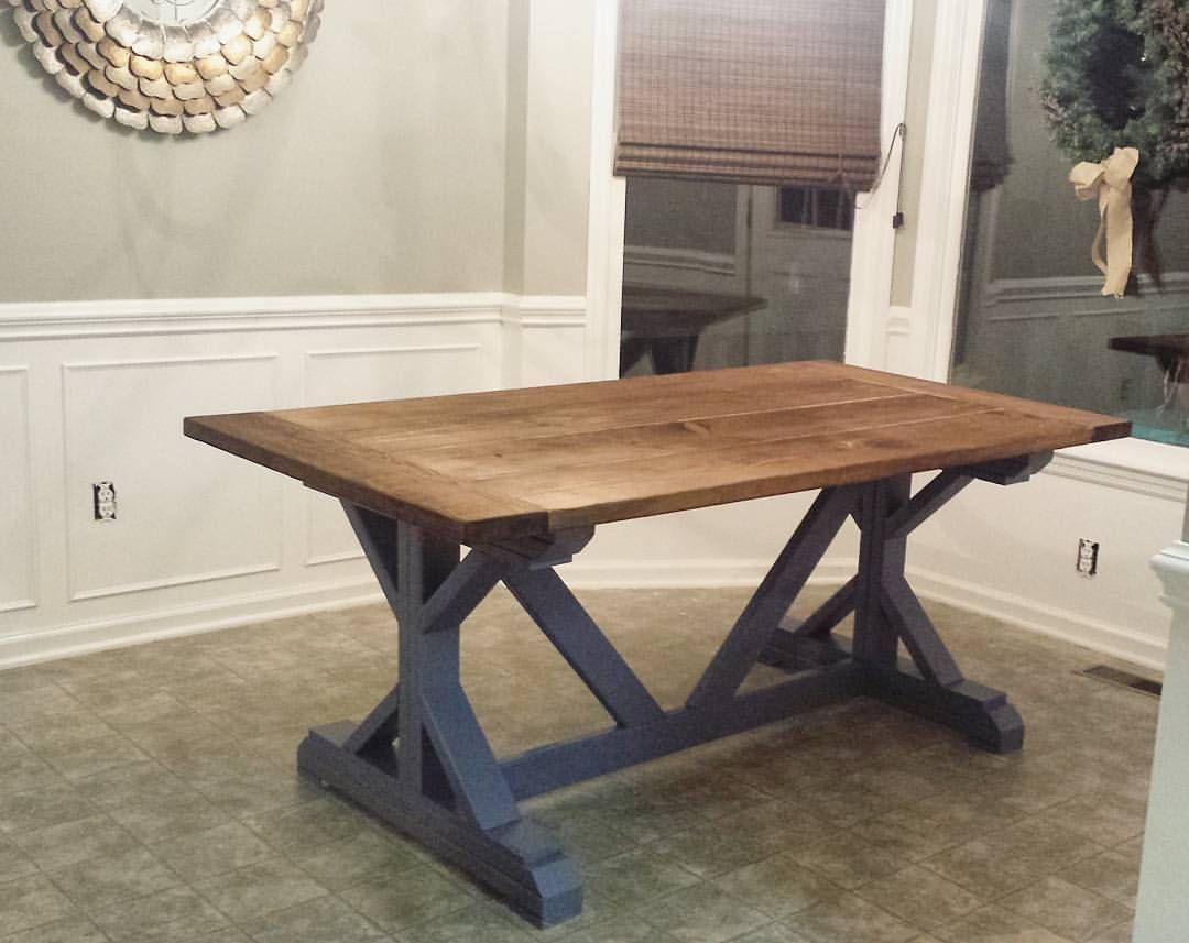 diy farmhouse table build best made plans white accent black marble coffee natural cherry furniture round lucite dinner set small oak side tables for living room retro wood dining
