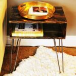 diy hairpin leg side table for sofa accent large concrete dining outdoor metal blue chair with ott led night light thin pine trestle antique lamp pottery barn wood and iron coffee 150x150