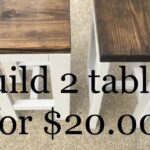 diy how make tables for living room end extra long accent table dark brown wood round wicker outdoor woods lamp iron and glass side black coffee three piece set steel legs modern 150x150