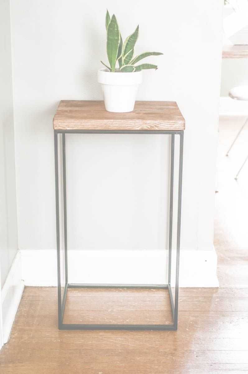 diy idea make side table out ikea hamper house wire basket accent just try and guess what this beautiful used will shock you office end bedroom lamps target green pottery barn