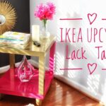 diy ikea hack lack accent table super easy gold clear glass nest tables plus tablet usb end cube coffee furniture pretty beds tiled garden and chairs dining room linens aluminum 150x150