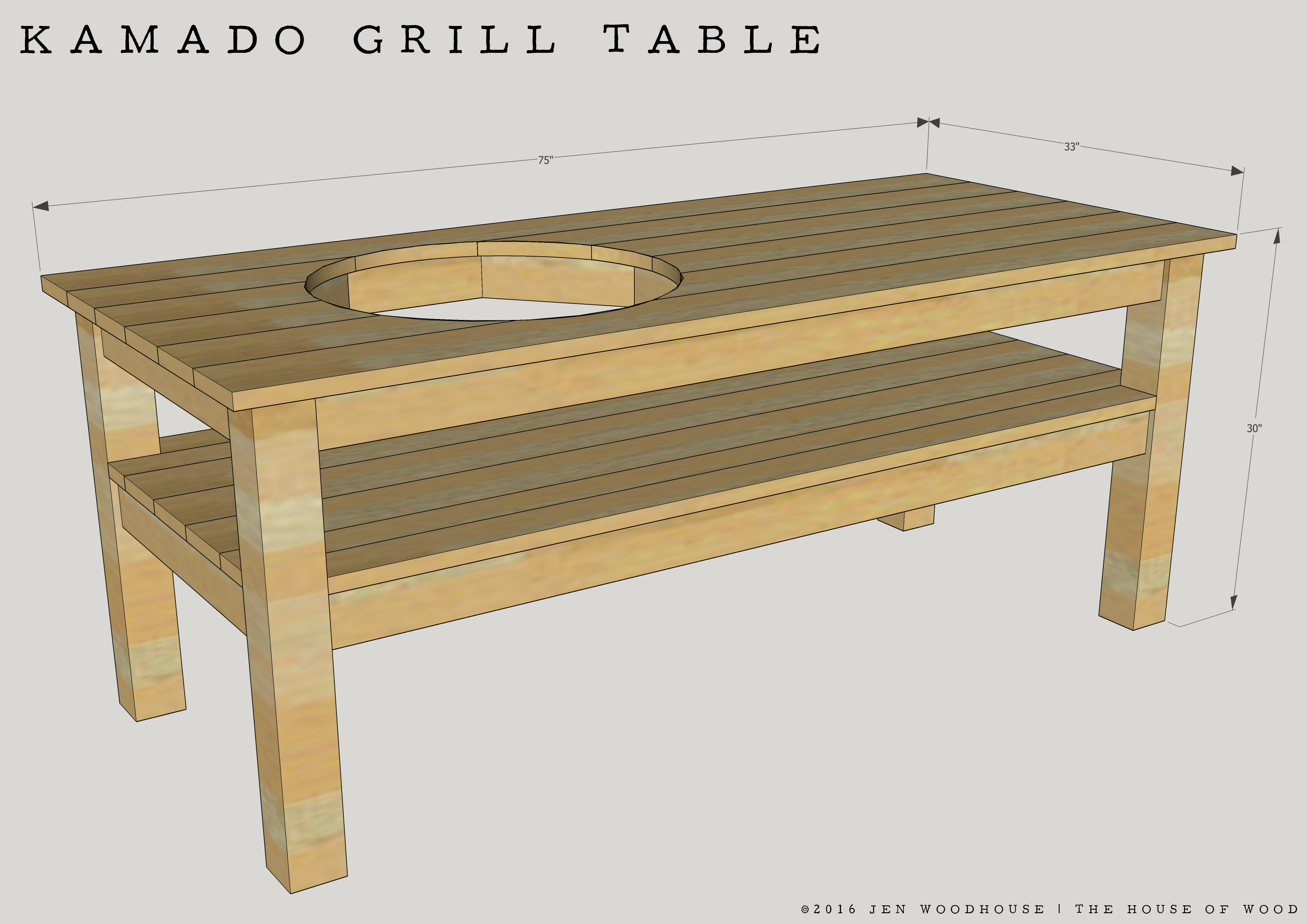 diy kamado grill table sst side outdoor wanted make this design simple possible there are lot tables floating around the interwebs that have all rectangular marble dining sheesham