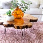diy live edge wood projects for your home coffee table accent brown candle centerpieces hexagon end media console furniture crystal lamp black and white marble matching side 150x150