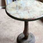 diy mackenzie childs inspired accent table makeover angela east homedecor baroqueinterior glam with mini tiffany style lamps black marble dining ikea garden sheds inexpensive side 150x150