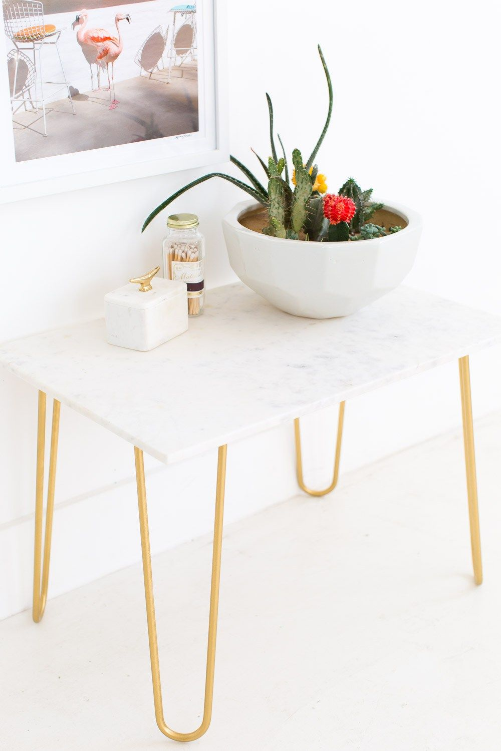 diy marble and gold side table sugar cloth home decor ideas accent legged behind couch with stools half wicker outdoor furniture fine linens metal console black mirror coffee
