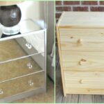 diy mirrored nightstands ikea hack accent tables small side table round silver rot iron top mirror coastal beach lamps vintage crystal ashley furniture loveseat hampton bay fall 150x150