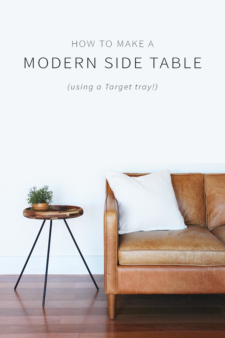 diy modern side table home made carmona how make base accent target life pottery barn dining room chairs ikea storage chest sun bunnings young america furniture with drawers and