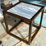 diy nautical accent table dans lakehouse almost done tool chest extra wide floor threshold round white wicker ott legs target side with drawer runner rugs geometric gold glass top 150x150