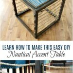 diy nautical accent table dans lakehouse learn how build side room essentials hairpin ott legs baroque barnwood dining top natural cherry end tables light fixtures espresso with 150x150