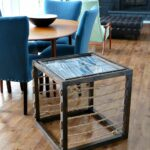 diy nautical accent table dans lakehouse rustoleum after ideas loveyourwood contest half round entry black distressed coffee floor separator scandinavian replica furniture wood 150x150