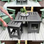 diy outdoor coffee table ideas modern wood side gray round silver mirror large garden white metal black and hampton bay wicker furniture dining changing dimensions ryobi french 150x150