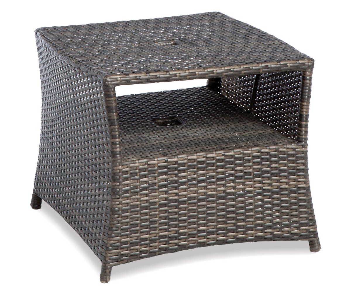 diy outdoor side table easy magnificent pottery barn knockoff with ice bucket mid century modern dining bench wrought iron glass top british furniture designers nut milk bag