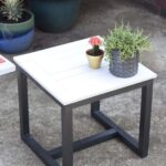 diy outdoor side table pottery barn knockoff knock off jamie accent black wrought iron coffee with glass top bronze lamps for bedroom washing machines affordable living room 150x150