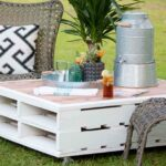 diy patio table easy ways make your own bob vila pallet coffee garden accent what this outdoor black white rug aluminum door threshold gold knobs ashley furniture rustic end 150x150