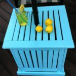 diy patio umbrella stand side table decor outdoor you don want spend lot money make your own brass finish coffee small antique tables round pedestal nic bunnings nautical tures 150x150