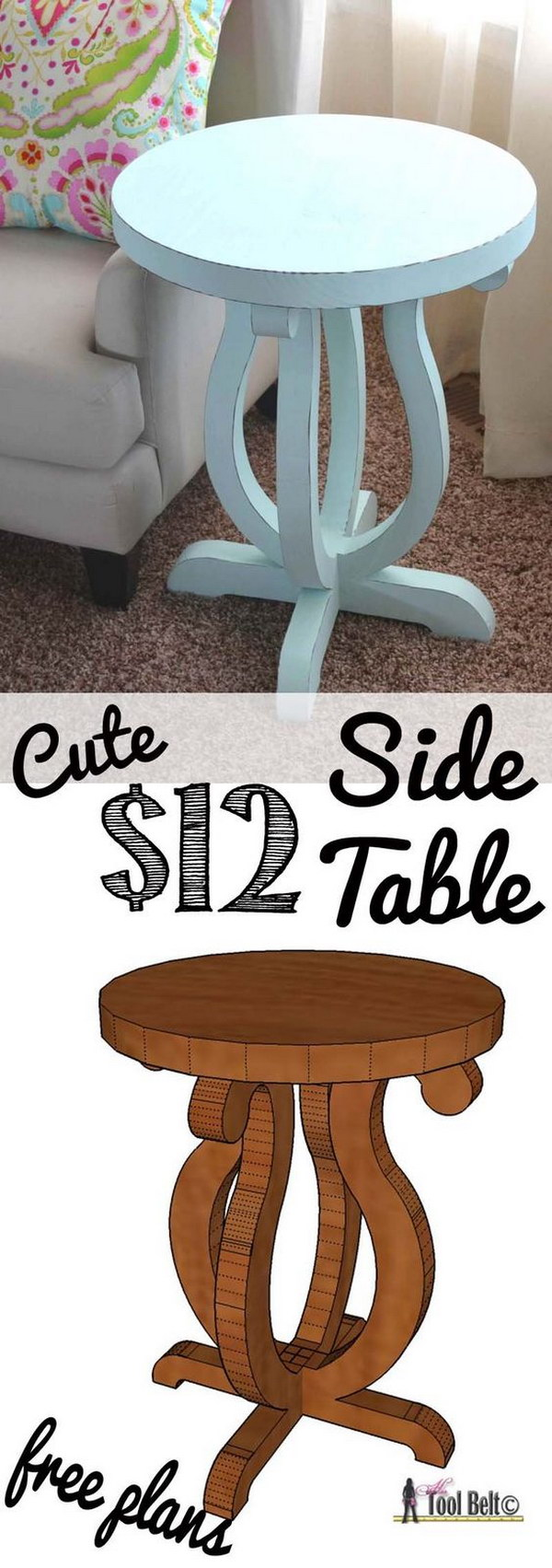 diy side table ideas with lots tutorials gold accent decor curvy pottery barn rustic pedestal banquet tablecloths home ping sites marble plant stand target pouf dining furniture