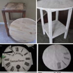 diy side table ideas with lots tutorials wire basket accent vintage clock white and silver patio seating distressed grey quatrefoil end mirror office metal outdoor antique drop 150x150