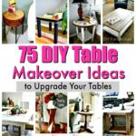 diy table makeover ideas upgrade your tables crafts coffee side nightstand and projects accent half blue mosaic black distressed simple end plans teal chairs commercial nic 150x150