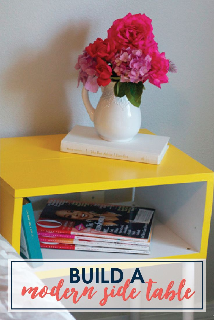 diy target knockoff side table ideas and funky junk yellow accent similar latest modern unfinished wood brass rectangular coffee laminate threshold bar white top screw wooden legs