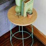 diy tomato cage side table nightstand furniture outdoor sofa height ikea chest drawers bedside with storage modern runner mini tiffany lamps target waldo accent acrylic dining 150x150