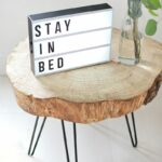 diy tree slice hairpin table nic pretties wood home rustic corner accent this leg makes great piece sofa black dining room chairs brass brown wicker outdoor furniture decorative 150x150
