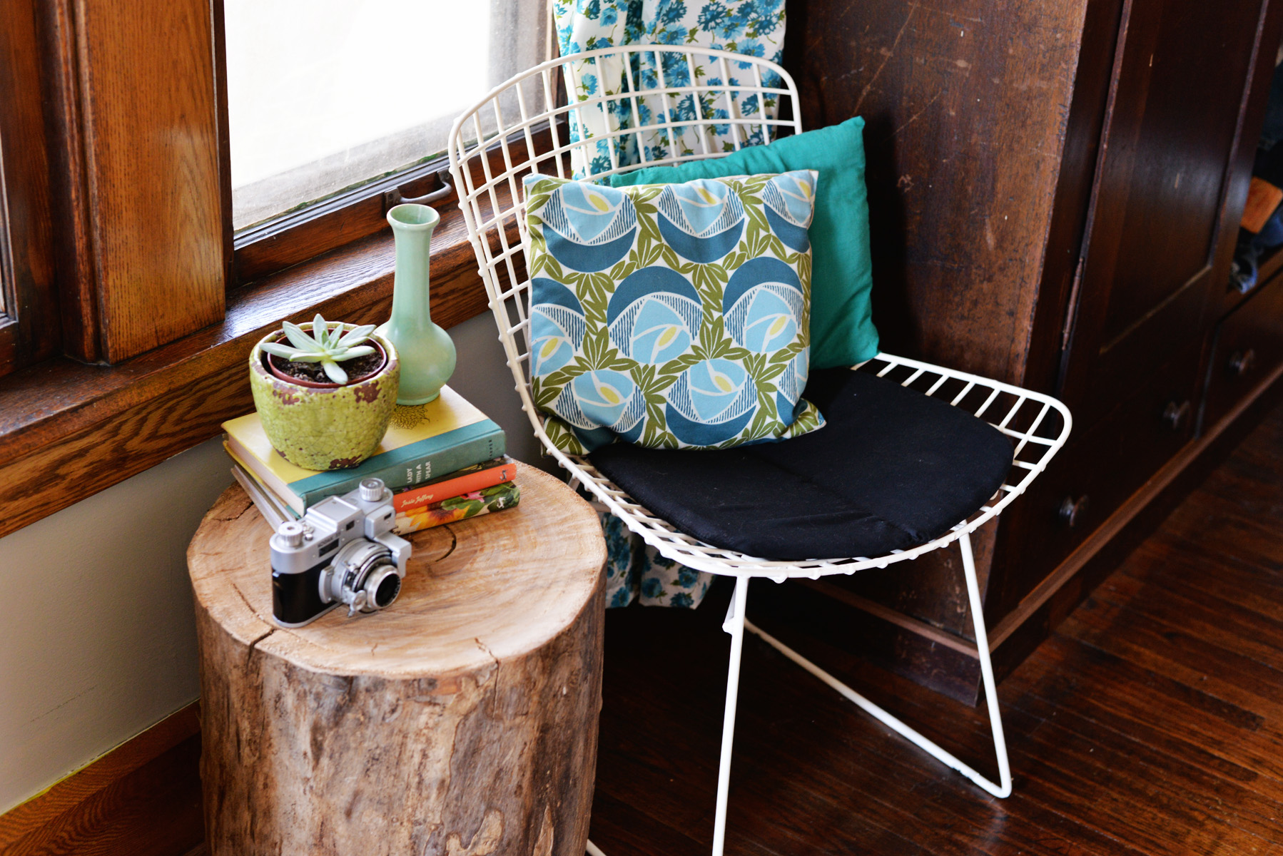 diy tree stump side table rolling wood accent ese style lamps modern decor ideas green coffee counter height dining chairs mirrored bedside next cream colored tables battery