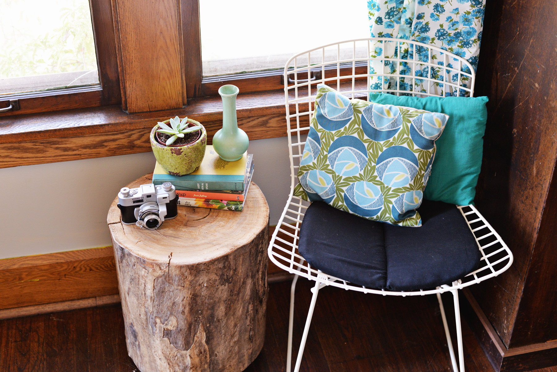 diy tree stump side table tutorial wood accent round sofa ceiling lamp shades cute bedside lamps pier target high top outside and chairs black cube end counter height dining