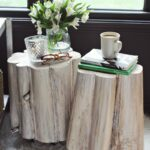diy tree stump side tables beautiful mess trunk accent table tennis paddles blue lacquer tall mirrored outdoor chair covers stone coffee bedroom chairs condo furniture toronto 150x150