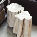 diy tree stump side tables beautiful mess wood log accent table furniture white folding outdoor faux marble end for entryway living room storage chest circle coffee drawer black 150x150
