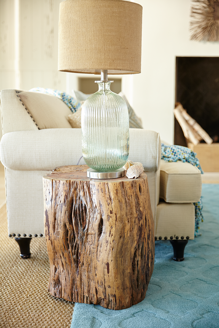 diy tree stump table ideas how make them accent kudos you for branching out with pier maram natural hewn from the trunk acacia our solid wood showcases top end magnussen sofa
