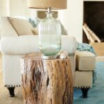 diy tree stump table ideas how make them trunk accent kudos you for branching out with pier maram natural hewn from the acacia our solid wood showcases bedroom chairs west elm 150x150