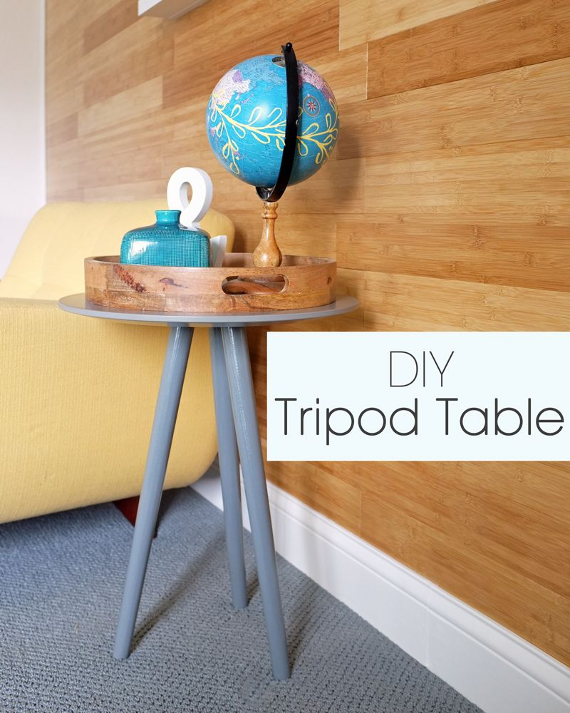 diy tripod accent table mapping the decor you know this month have been accessorizing lots surfaces home part interior styling series well what girl when she rona patio furniture