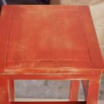 diy upcycled side table planter offbeat inspired wood stained close accent ikea nest tables hobby lobby decorations bar height glass cymbal bag mid century dresser garage cabinets 150x150