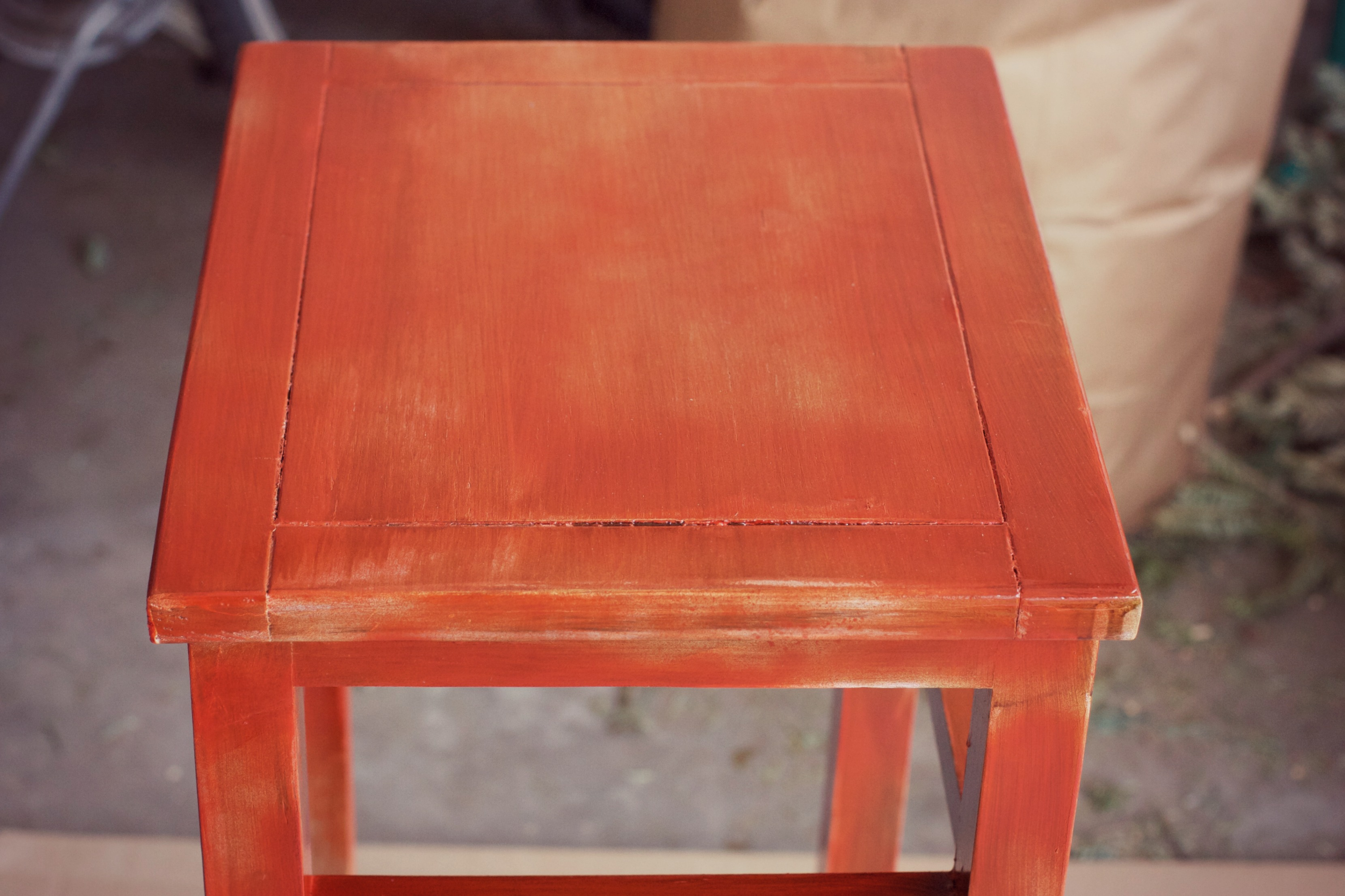 diy upcycled side table planter offbeat inspired wood stained close accent ikea nest tables hobby lobby decorations bar height glass cymbal bag mid century dresser garage cabinets