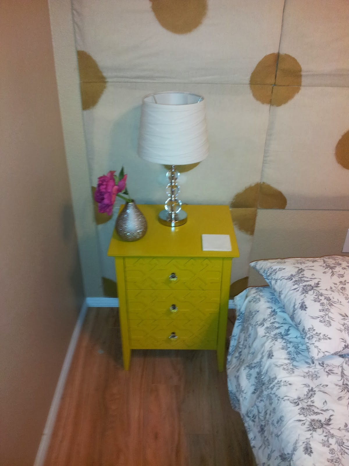 diy with handy cap project shiny silver dresser fretwork accent table blue few extra crystal knobbies for darling from target canadian tire furniture dale tiffany glass wall art