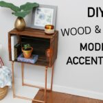diy wood crate copper modern accent table katie bookser painted trestle wooden dining chairs mirrored coffee target plastic garden furniture chair cover factory acrylic entry 150x150