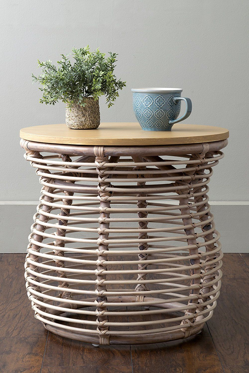 dodds off white rattan round accent table side pottery barn jamie end night stand coffee kitchen dining slim mirrored with storage pine wood room furniture brass oriental lamps