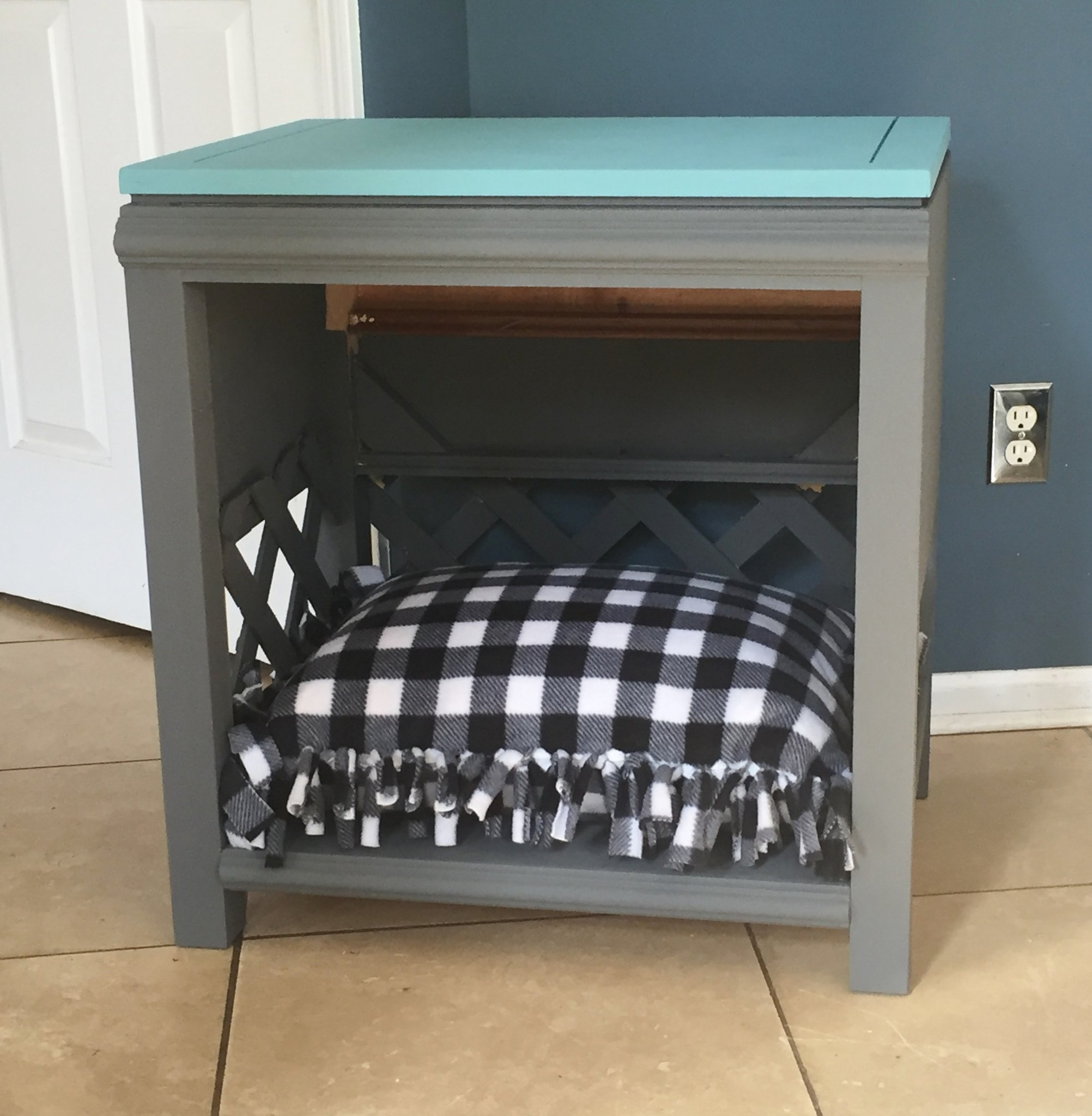 dog cat pet accent table upcycled nightstand handmade img from end basket silver cocktail decoration ideas diy outdoor farmhouse candle for tables grey coffee set snack ikea