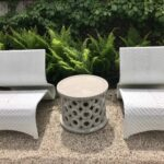 dohnet concrete outdoor side table mecox gardens fnst donut and chairs previous next gray dining room set oval metal coffee cherry small chairside ikea couch folding patio egg 150x150