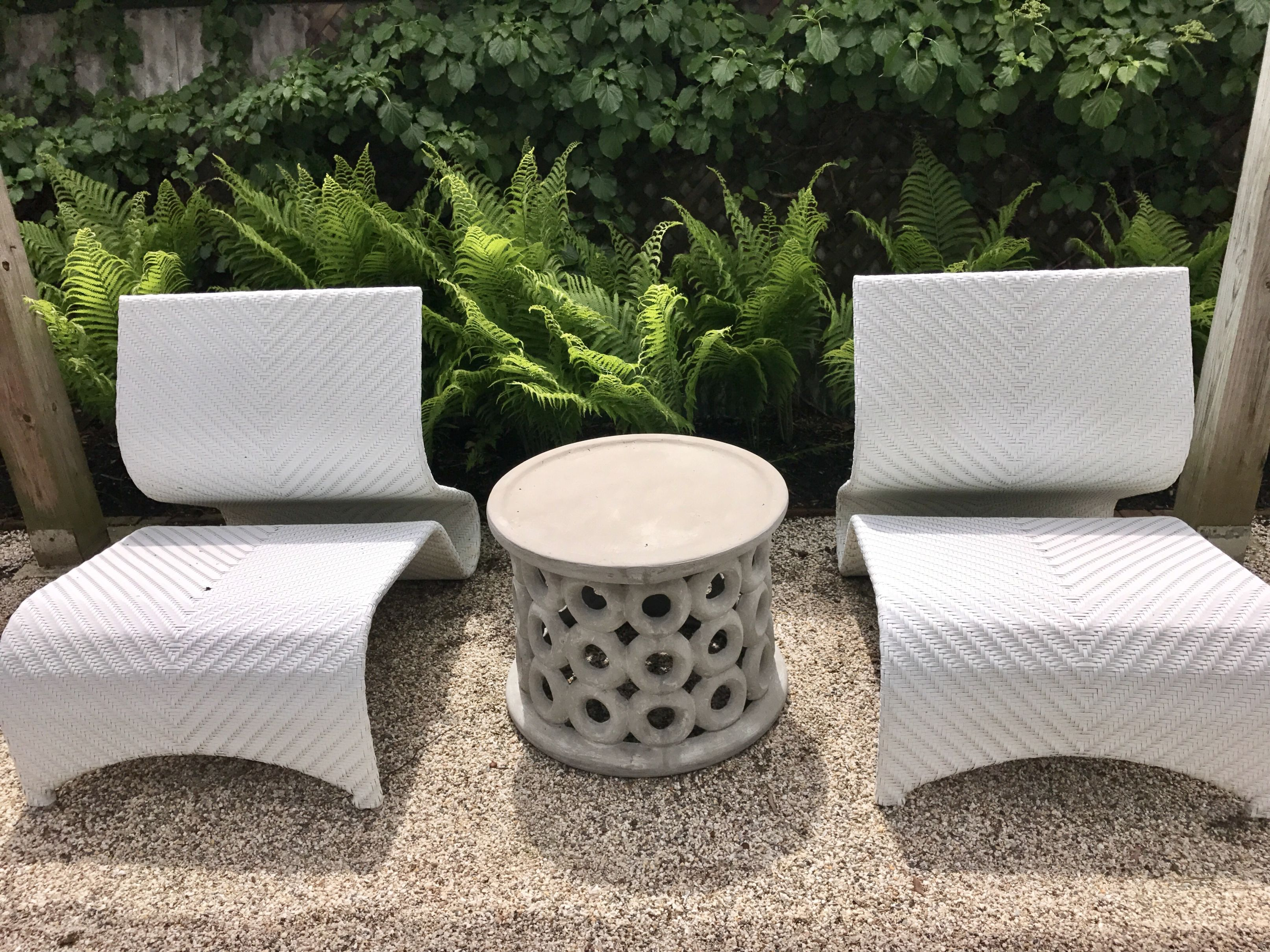 dohnet concrete outdoor side table mecox gardens fnst donut with drawer previous next pottery barn desk chair round bedside storage cottage style standard coffee height asian