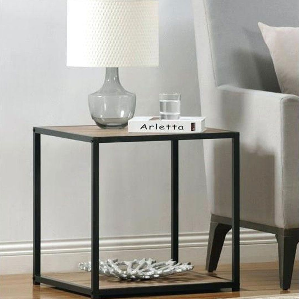 dorel home bali accent table with metal frame gray ultimate aluminum outdoor safavieh mirror kohls gift registry wedding small desk chair occasional tables drawer end unique