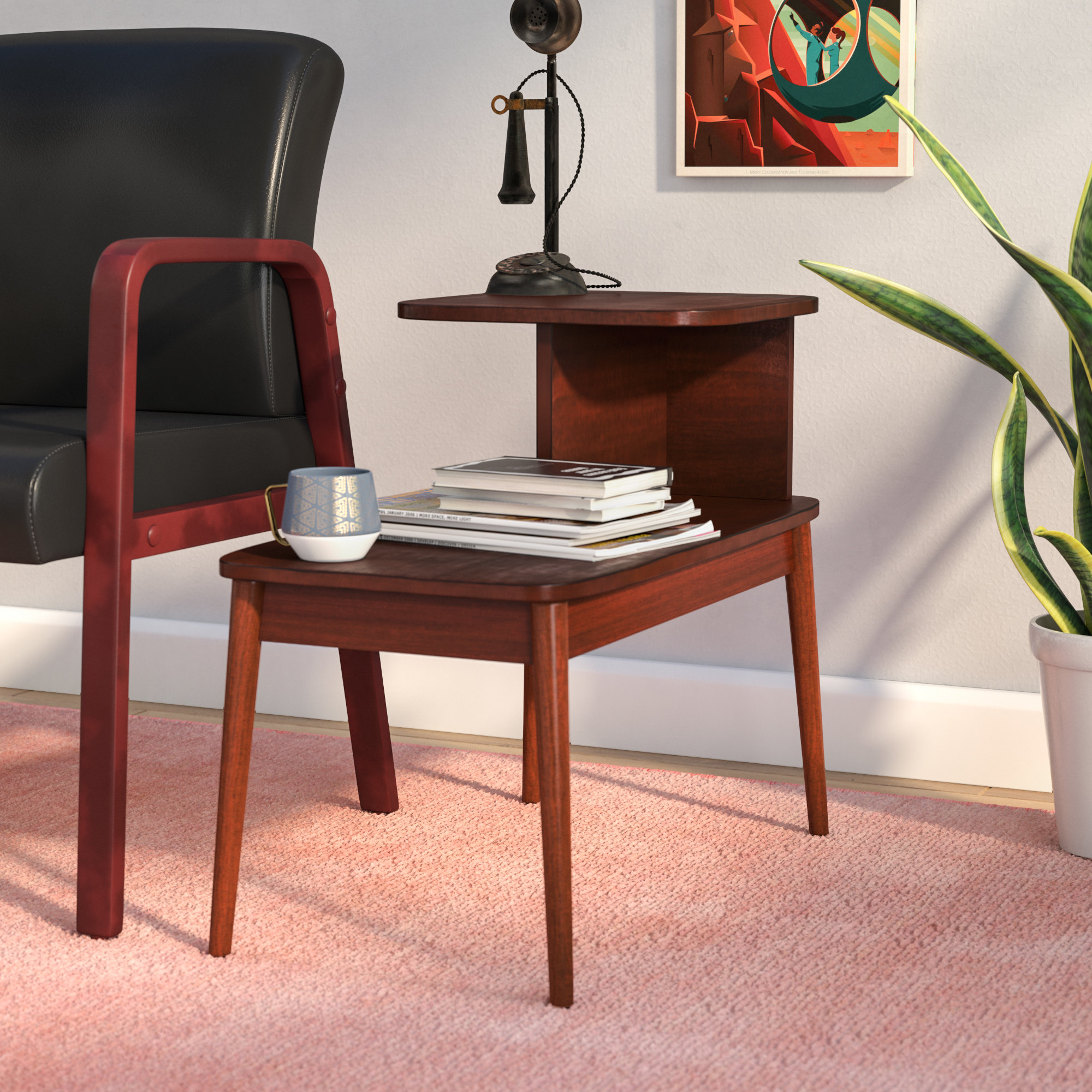 draper mid century end table darcey room essentials hairpin accent quickview seating for small spaces black side with drawers large dining and chairs round owings target coffee