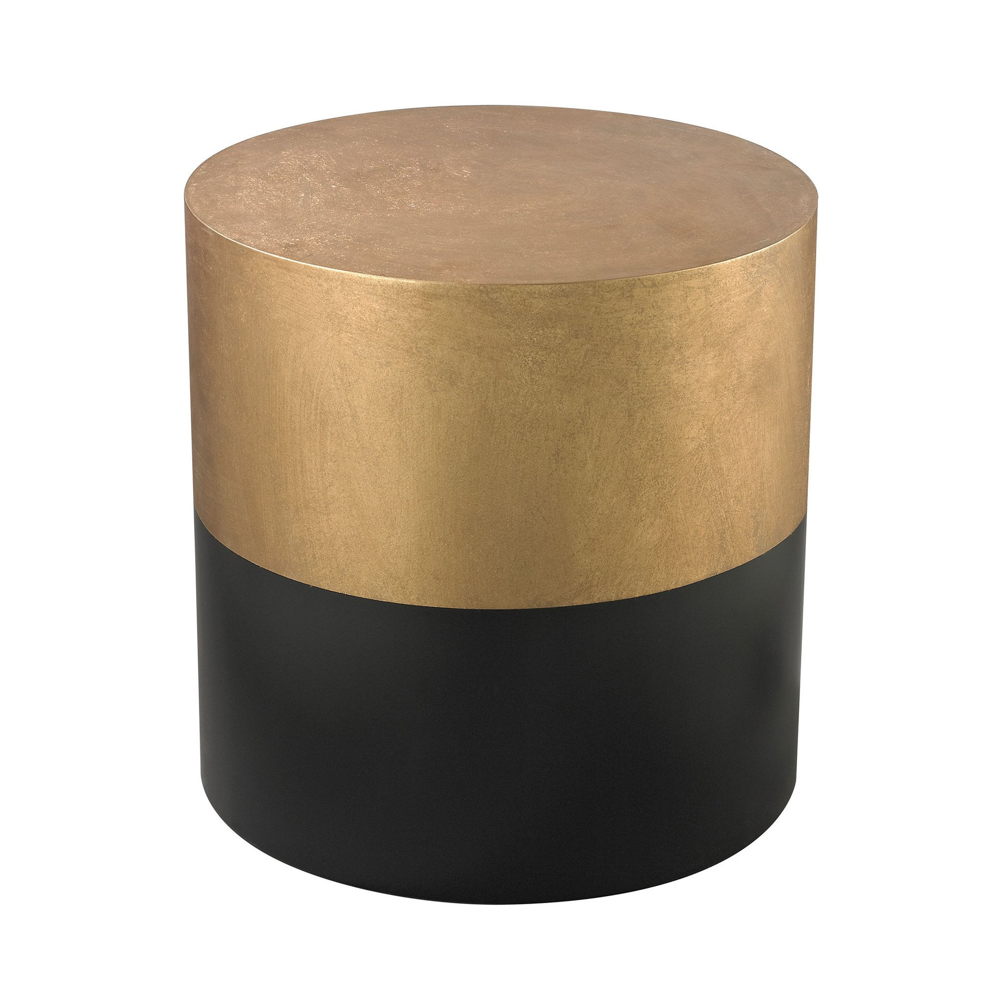 draper round wood side table black gold drum end glass display best paint for furniture tall couch reclaimed coffee small mosaic accent tables high top and chairs thomasville
