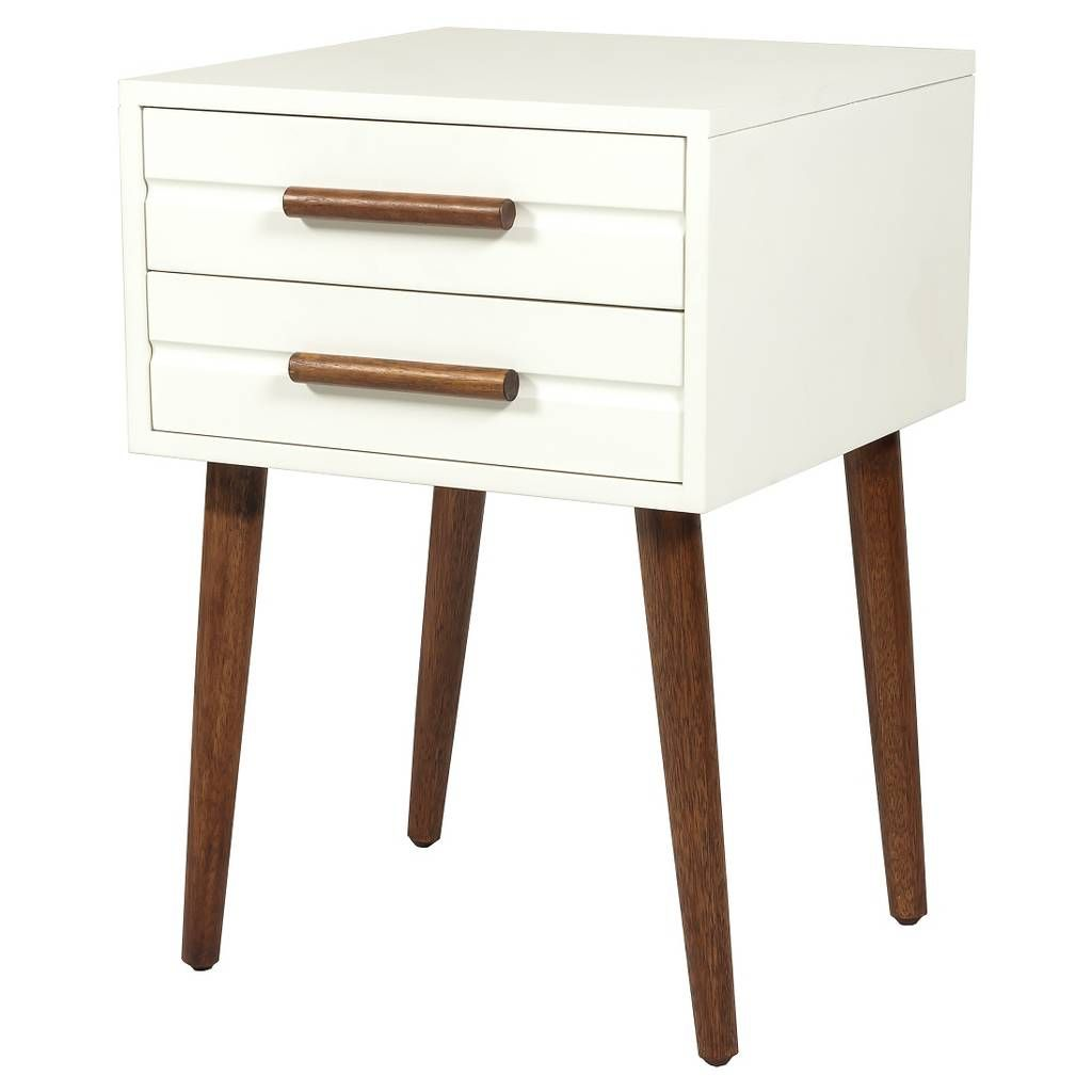 drawer accent table room essentials target white modern contemporary side tables home decor centerpiece barn door kitchen cabinets rug ikea lounge nautical bathroom vanity lights