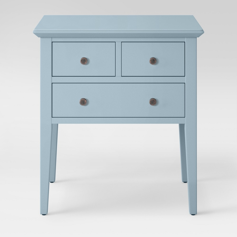 drawer end table acoustic aqua blue threshold teal accent cabinet door knobs drop leaf dining with folding chairs real wood furniture gold metal coffee jcpenney patio entry side
