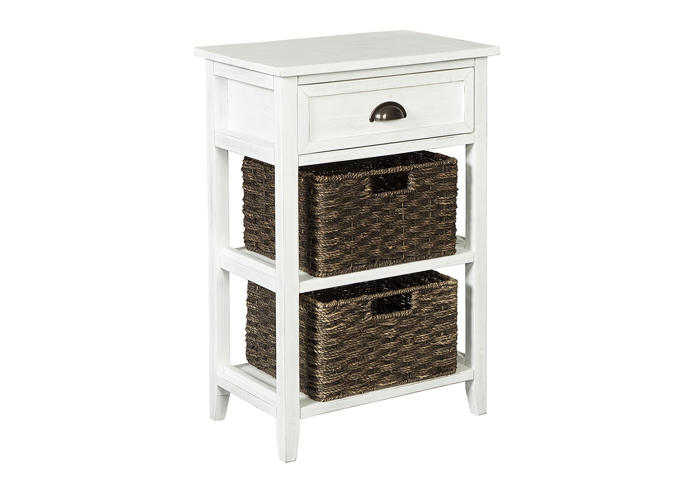 dream decor furniture springfield oslember white accent table chest signature design ashley grey patterned armchair bath and beyond registry login drawer serving tray antique